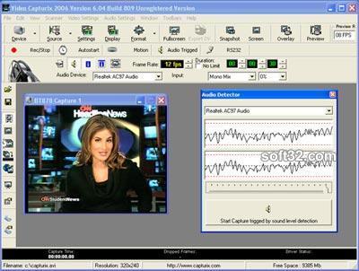 Video Capturix 2009 Screenshot 2