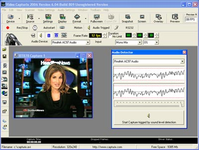 Video Capturix 2009 Screenshot