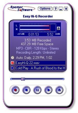 Easy Hi-Q Recorder Screenshot