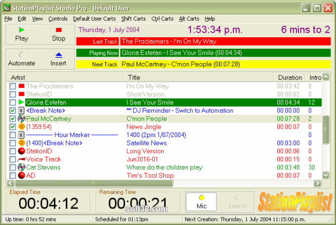 StationPlaylist Studio Screenshot 2
