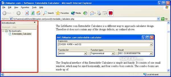 LibMaster.com Active Bookmark Screenshot 2