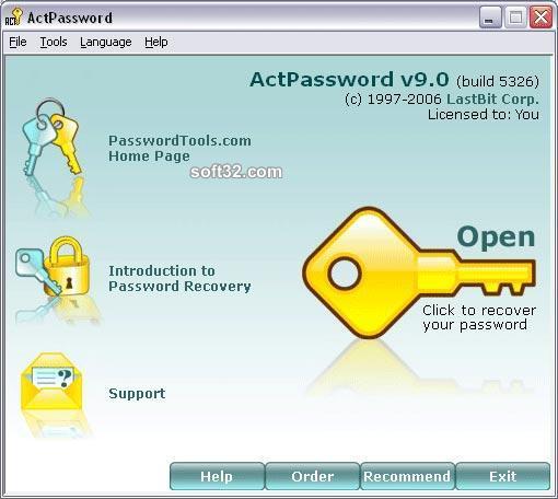 LastBit Act! Password Recovery Screenshot 3