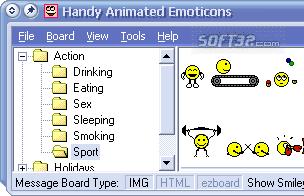 Handy Animated Emoticons Screenshot 2