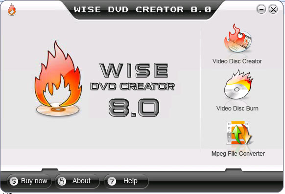 Wise DVD Creator Screenshot 1
