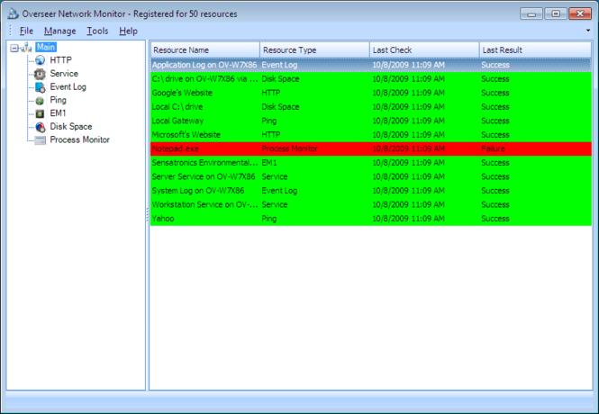 Overseer Network Monitor Screenshot 3
