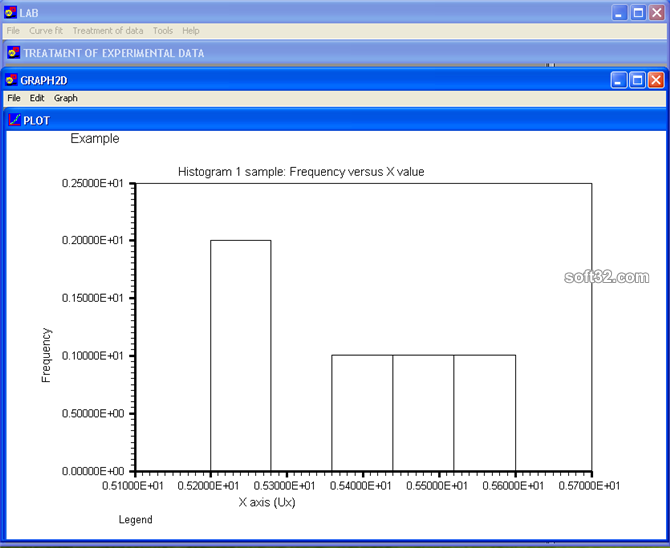 LAB Fit Curve Fitting Software Screenshot 4