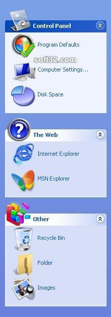 ExplorerBarXP Screenshot 2