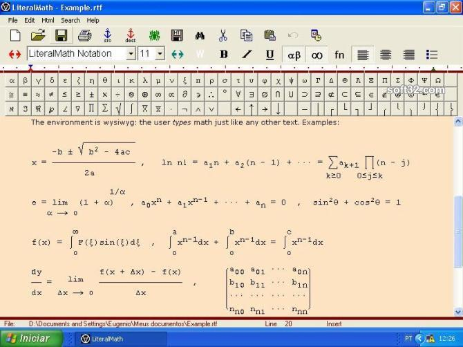 LiteralMath Screenshot 3