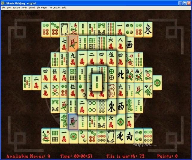 Ultimate Mahjong Screenshot 3