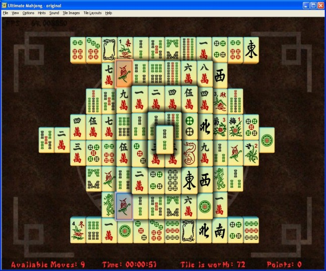 Ultimate Mahjong Screenshot 1