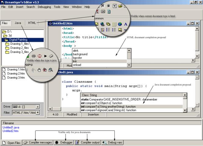 Oceantiger's Editor Screenshot