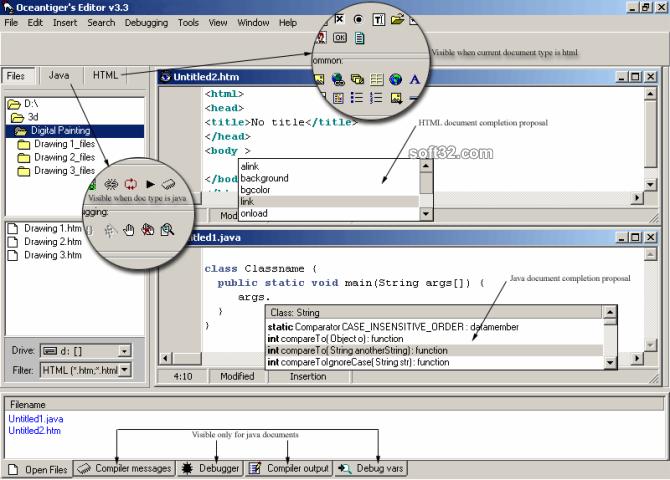Oceantiger's Editor Screenshot 2