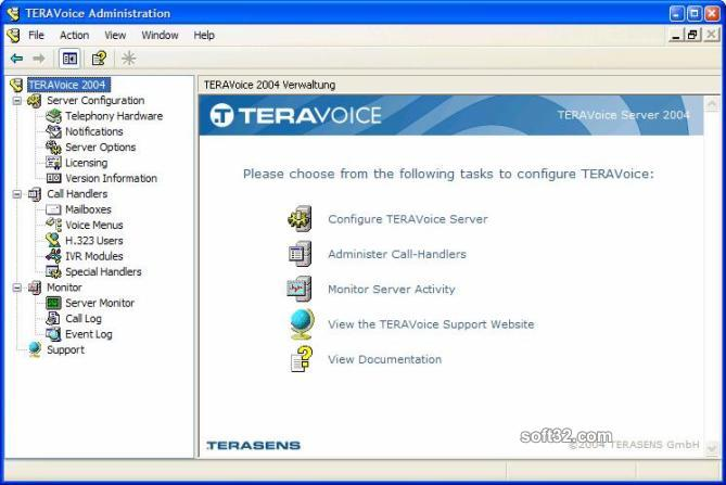 TERAVoice Server Screenshot 2