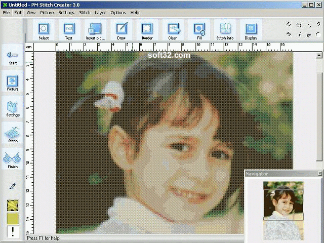 PM Stitch Creator Screenshot