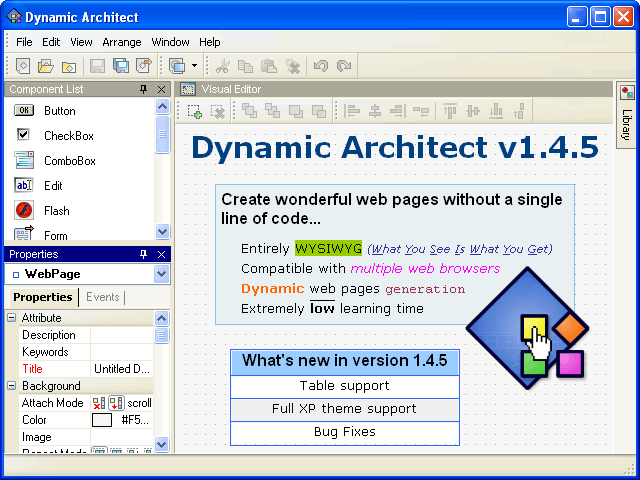 Dynamic Architect Screenshot