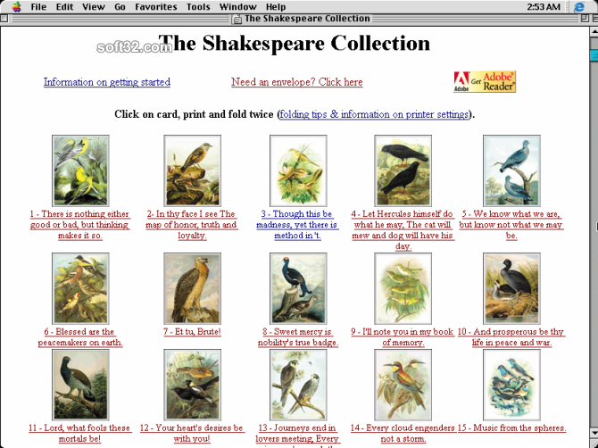 The Shakespeare Collection Screenshot 2