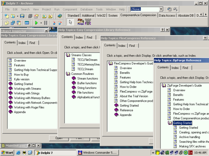 CompressionMaster Suite Screenshot
