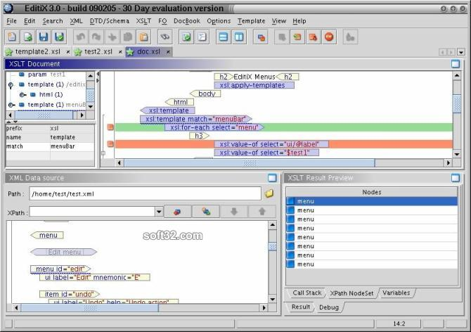 EditiX XML Editor Screenshot 3