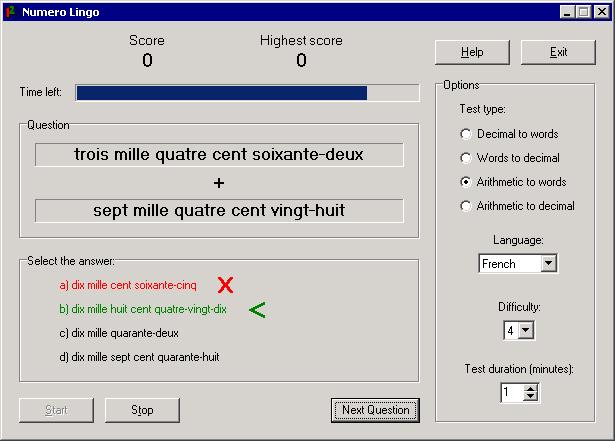 Numero Lingo Screenshot