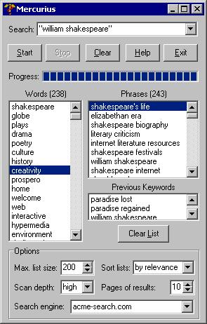 Mercurius Screenshot
