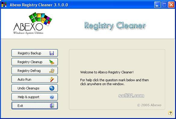 Complete Registry Cleaner Screenshot