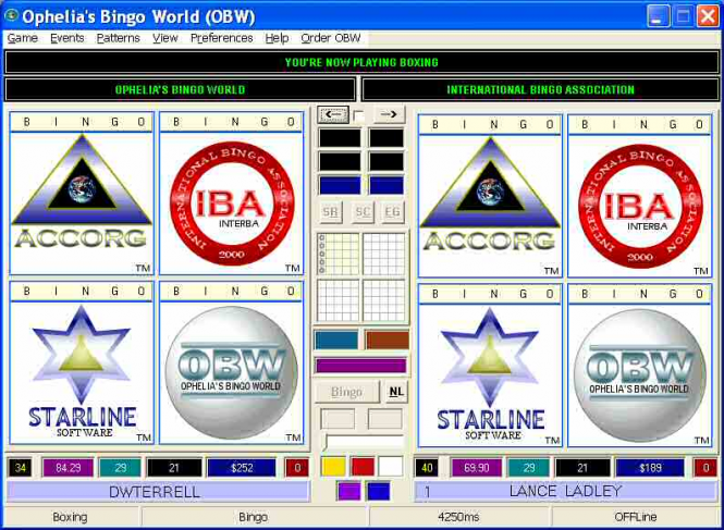 Ophelia's Bingo World Screenshot 1