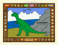 Coloring Book 2: Dinosaurs 2