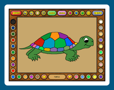 Coloring Book 3: Animals Screenshot 1