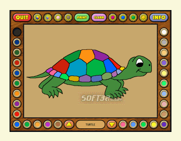 Coloring Book 3: Animals Screenshot 3