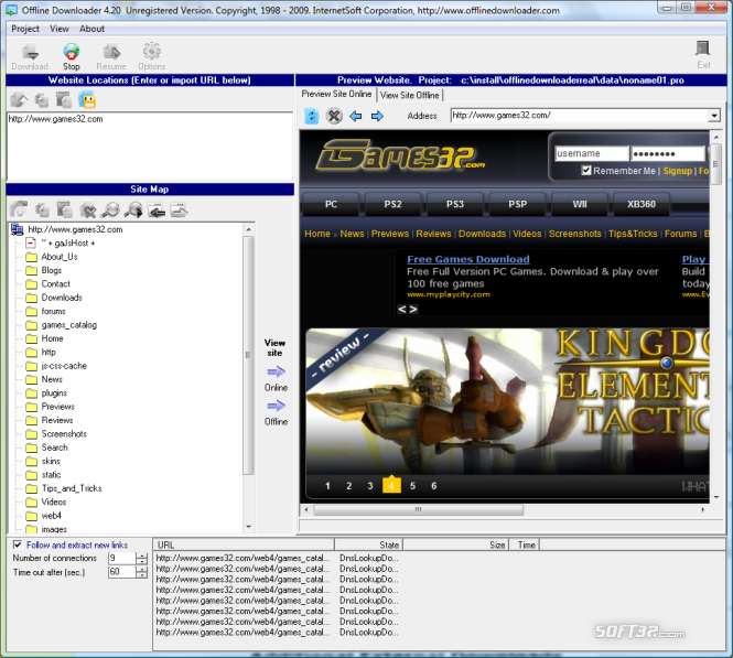 Offline Downloader Screenshot 2