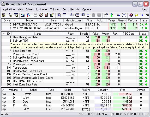 DriveSitter Pro Screenshot