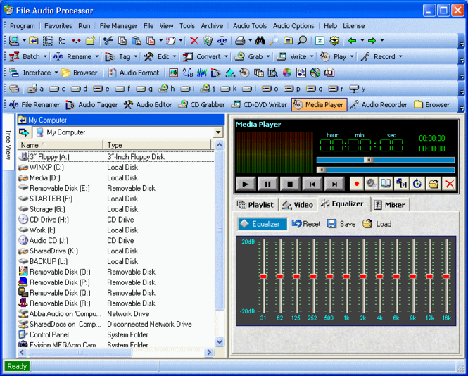 File Audio Processor Screenshot