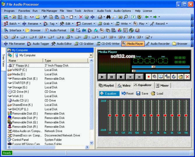 File Audio Processor Screenshot 3
