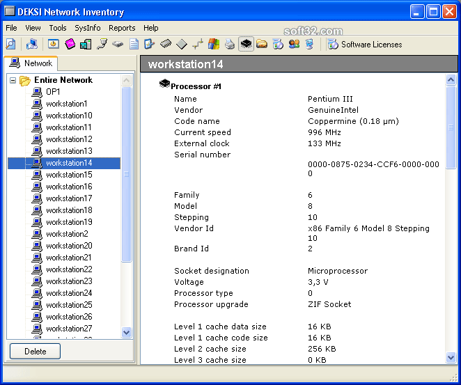DEKSI Network Inventory Screenshot 3