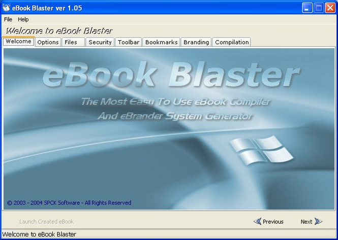 eBook Blaster Screenshot