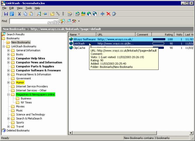 LinkStash Screenshot