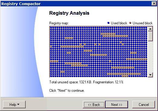 Registry Compactor Screenshot 1
