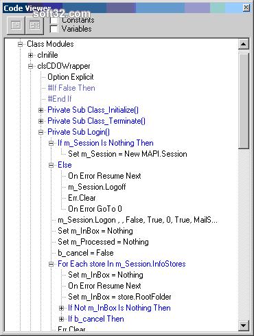 VB 6.0 Code Viewer and Validator Screenshot 3