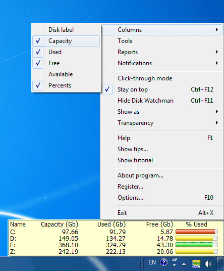 Disk Watchman Screenshot 3