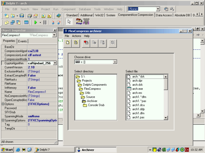 FlexCompress Screenshot 1