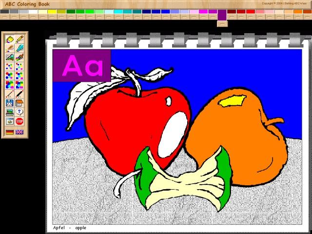 ABC Coloring Book I Screenshot 1