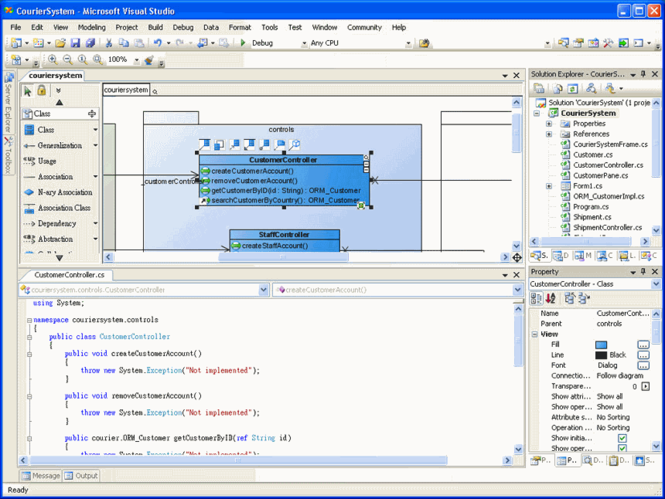 SDE for Visual Studio (PE) for Windows Screenshot