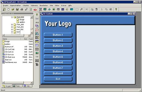 CDMenuPro Screenshot