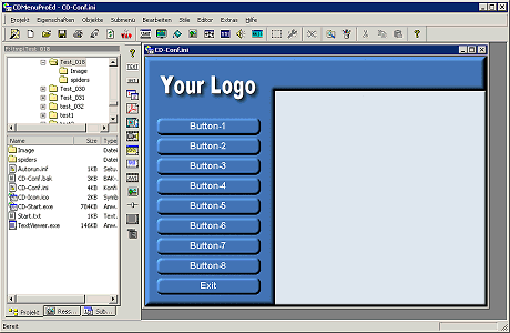 CDMenuPro Personal Edition Screenshot