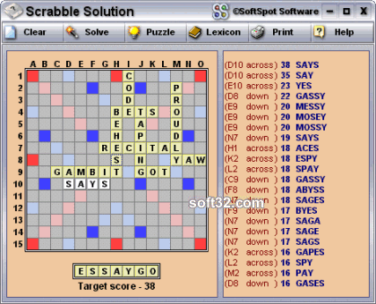 Scrabble Solution Screenshot 3