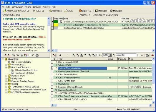 IDEA! Free Edition Screenshot 2