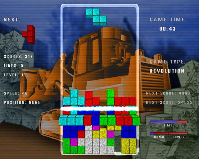 Tetris Revolution Screenshot 1