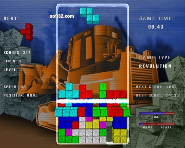 Tetris Revolution Screenshot 3