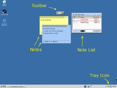 GYZ Task Notes Screenshot
