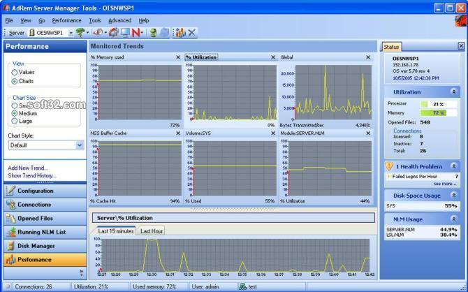 AdRem Server Manager Screenshot 3
